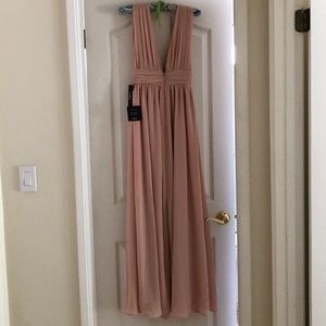 Lulu's Dresses - Lulus Heavenly Hues Blush Maxi Dress